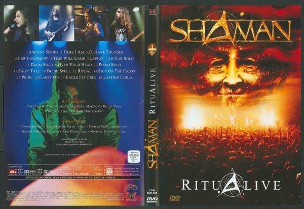 dvd shaman ritualive